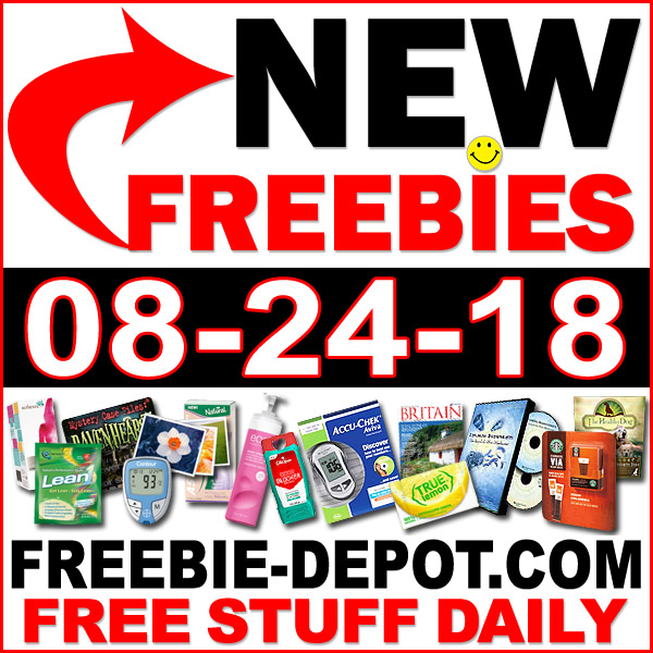 Top Freebies for August 24, 2018