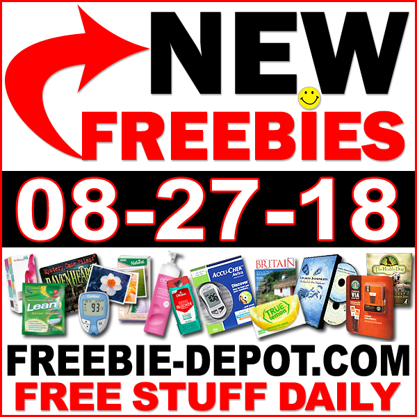 Top Freebies for August 27, 2018