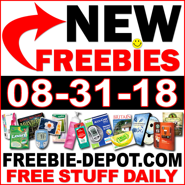 Top Freebies for August 31, 2018
