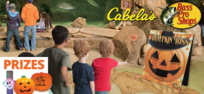 FREE Halloween Event & Activities for the Whole Family at Bass Pro & Cabela's – 10/20 thru 10/31/18