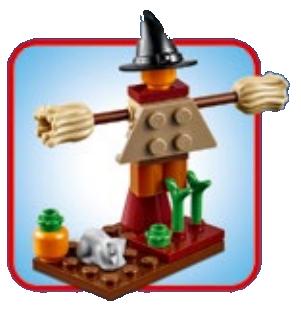 FREE LEGO Mini Model Build – Scarecrow – 10/2/18 & 10/3/18 – Registration Starts 9/15/18