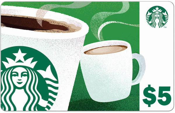 FREE $5 Starbucks Gift Card – LIMITED TIME! No strings attached! REALLY!