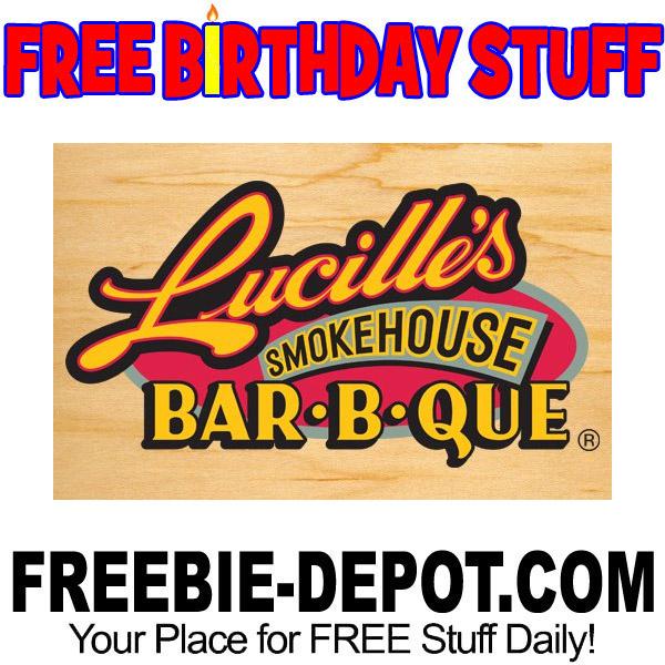 FREE BIRTHDAY STUFF – Lucille's Smokehouse BBQ