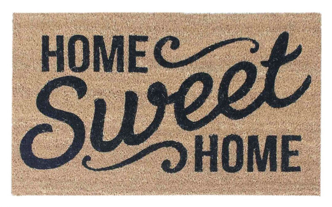 FREE Home Sweet Home Doormat from Target – $12 Value – Exp 11/1/18