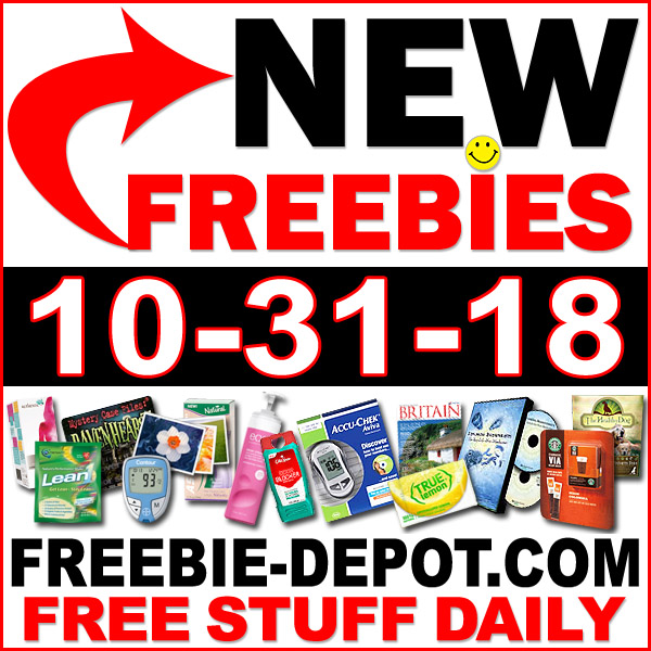 Top Freebies for October 31, 2018