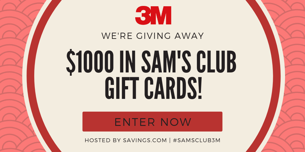Moving Made Easy with Sam's Club and 3M + FREE Gift Cards! #SamsClub3M