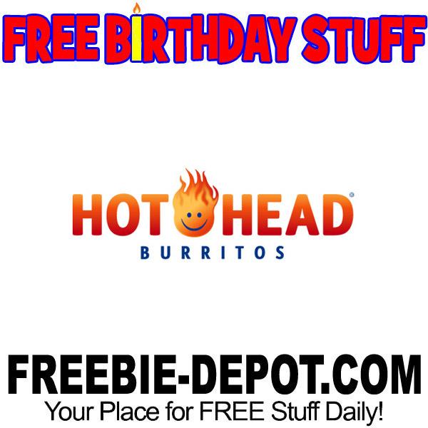 FREE BIRTHDAY STUFF – Hot Head Burritos