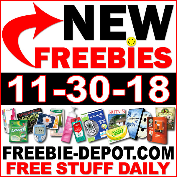 Top Freebies for November 30, 2018