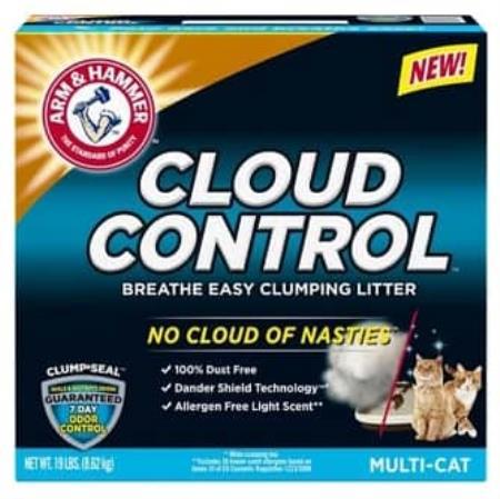 FREE 19lb. ARM & HAMMER CLOUD CONTROL Cat Litter Exp 11/30/20