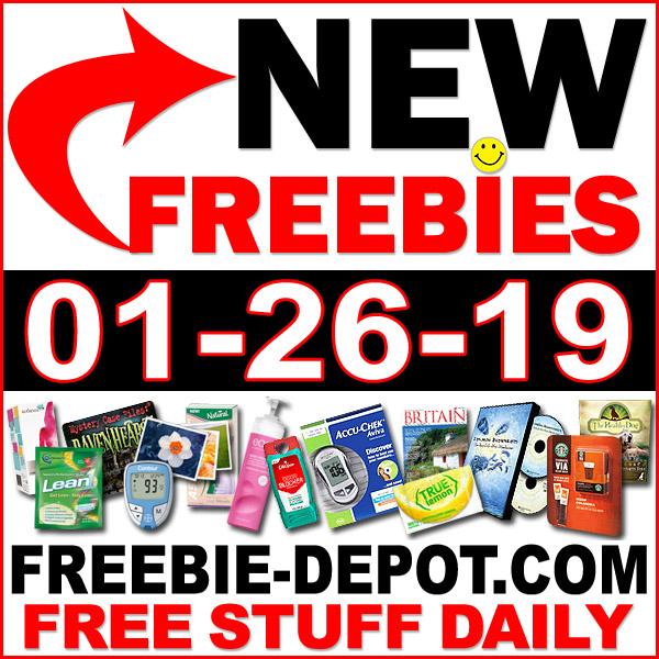 Top Freebies for January 26, 2019