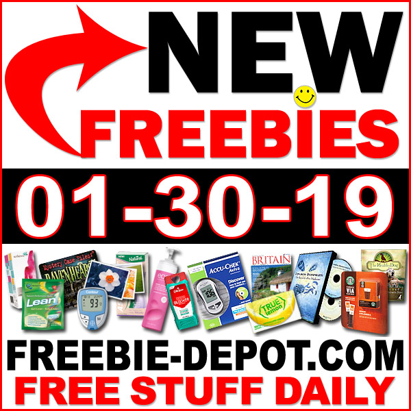 Top Freebies for January 30, 2019