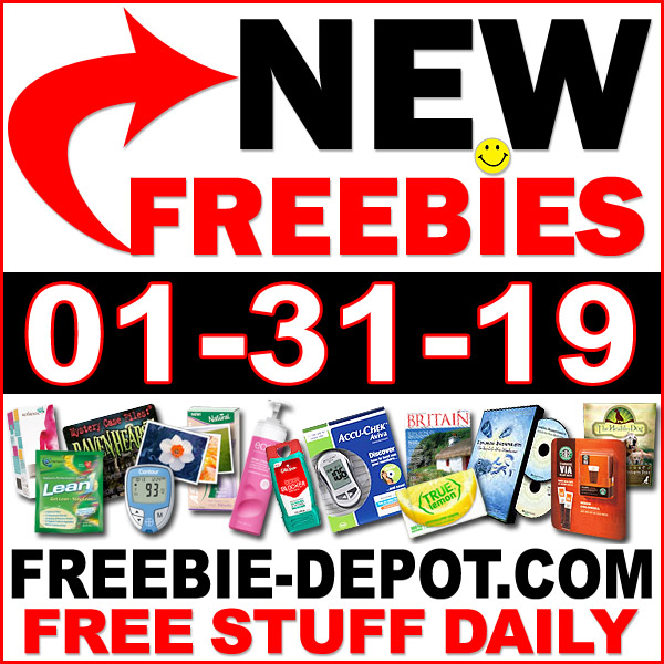 Top Freebies for January 31, 2019
