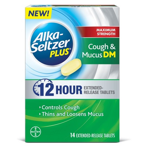 FREE Alka-Seltzer Plus 12 Hour Cough & Mucus DM – Try it FREE! $15.99 Value Exp 2/24/19