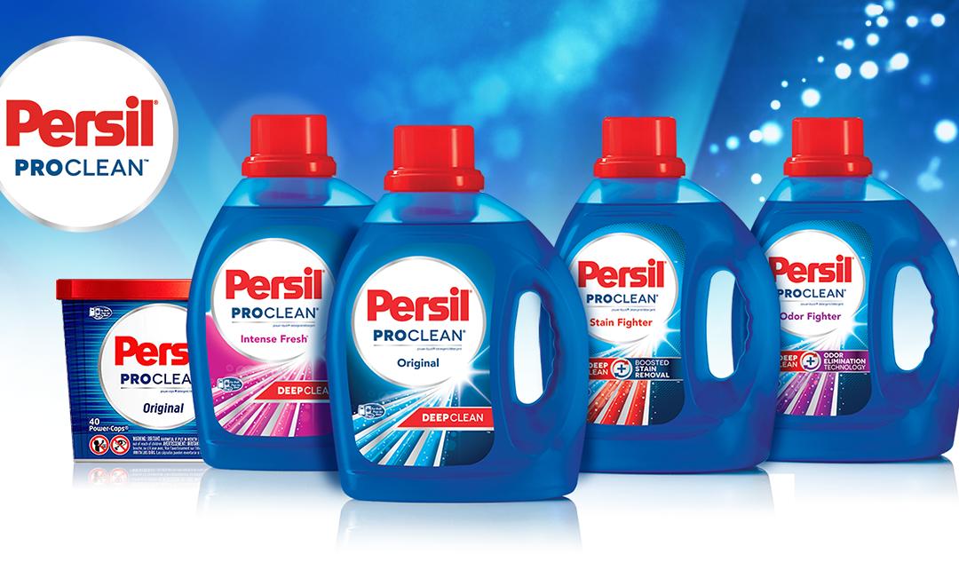 FREE Persil ProClean Detergent Sample #deepcleanchallenge