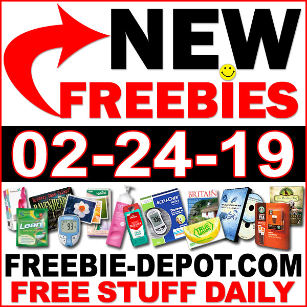Top Freebies for February 24, 2019