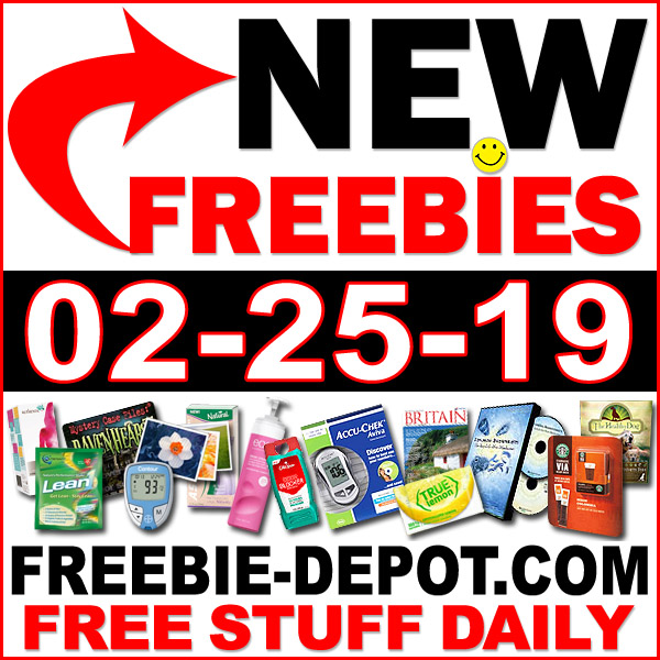 Top Freebies for February 25, 2019