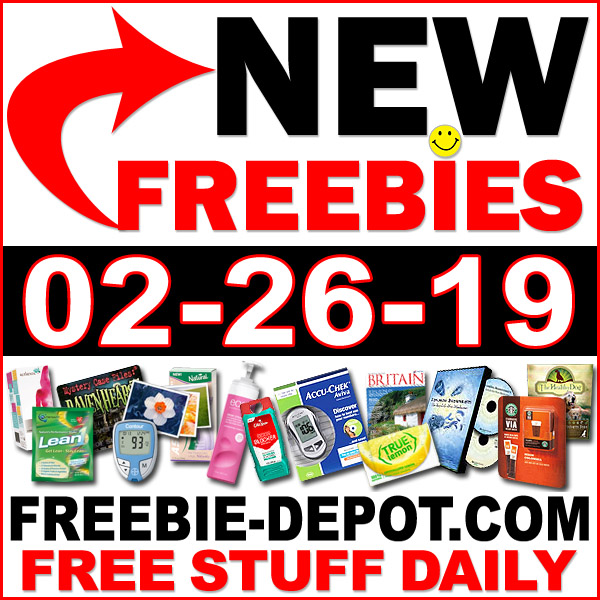 Top Freebies for February 26, 2019