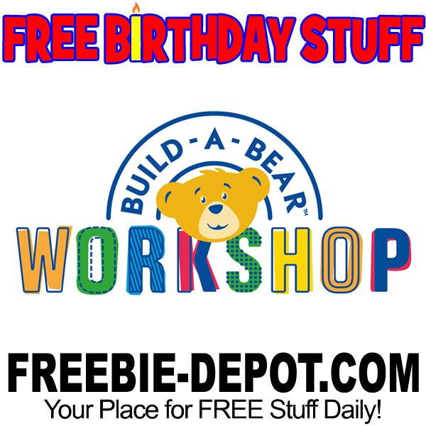 FREE BIRTHDAY STUFF – Build-A-Bear Workshop