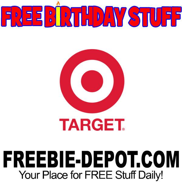 FREE BIRTHDAY STUFF – Target