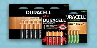 Stock up on FREE Batteries from Office Depot – LIMIT 4! Up to $42.99 Value EACH! Exp 8/31/19