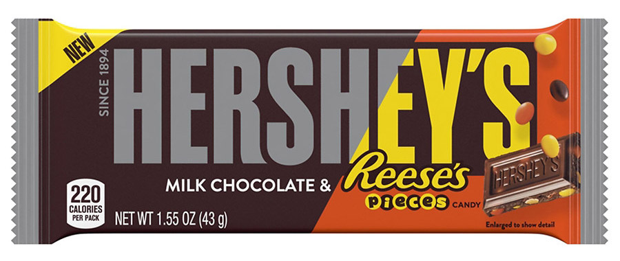 FREE Friday Hershey's Milk Chocolate with Reese's Pieces Candy Bar at Kroger – 3/8/19 ONLY!