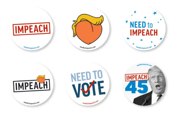 FREE Need to Impeach Sticker