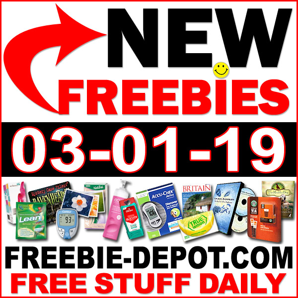 Top Freebies for March 1, 2019