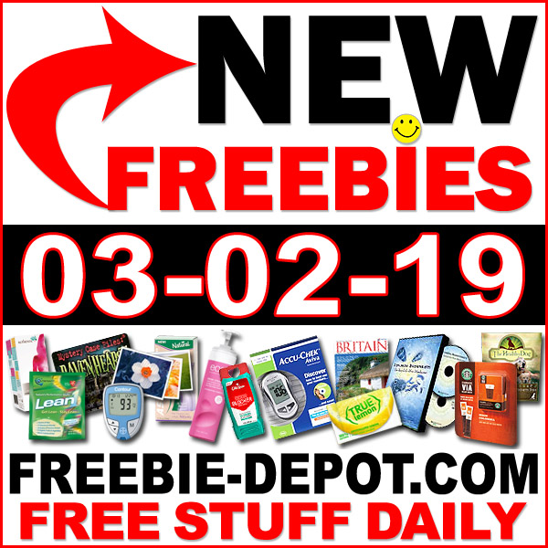 Top Freebies for March 2, 2019