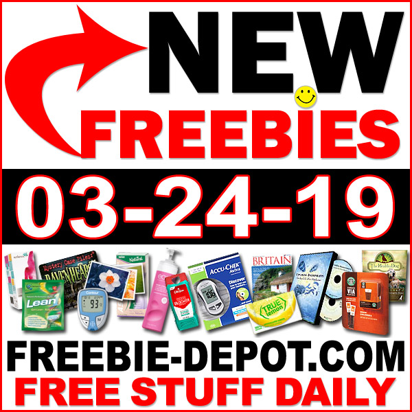 Top Freebies for March 24, 2019