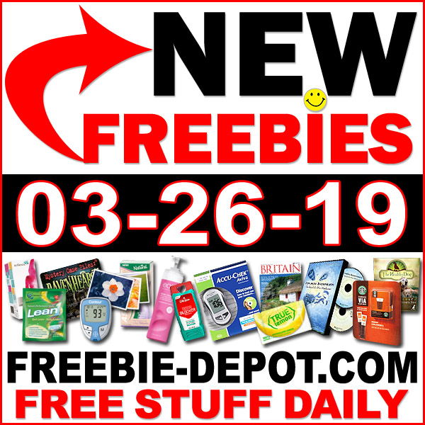 Top Freebies for March 26, 2019