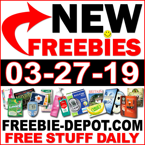 Top Freebies for March 27, 2019