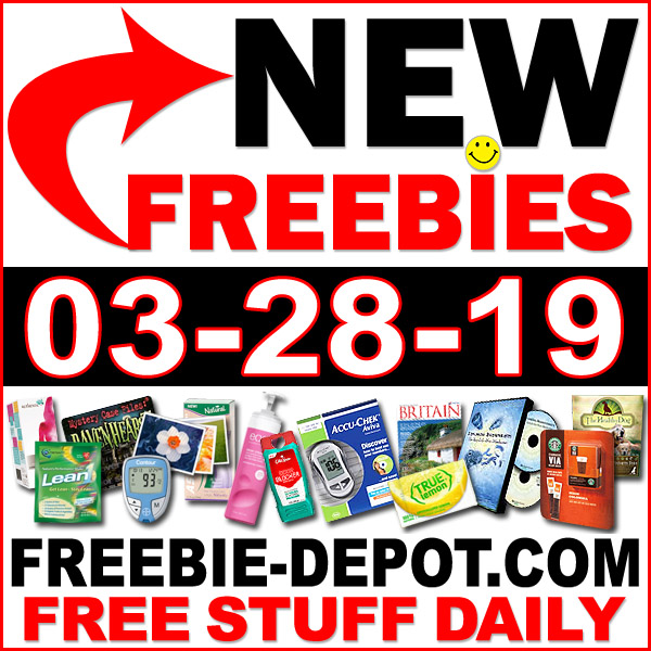 Top Freebies for March 28, 2019