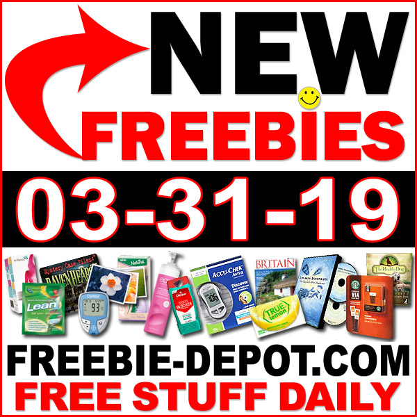 Top Freebies for March 31, 2019