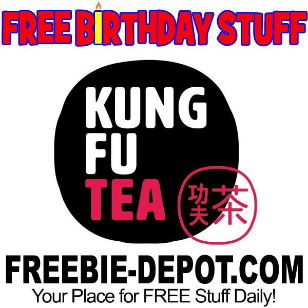FREE BIRTHDAY STUFF – Kung Fu Tea