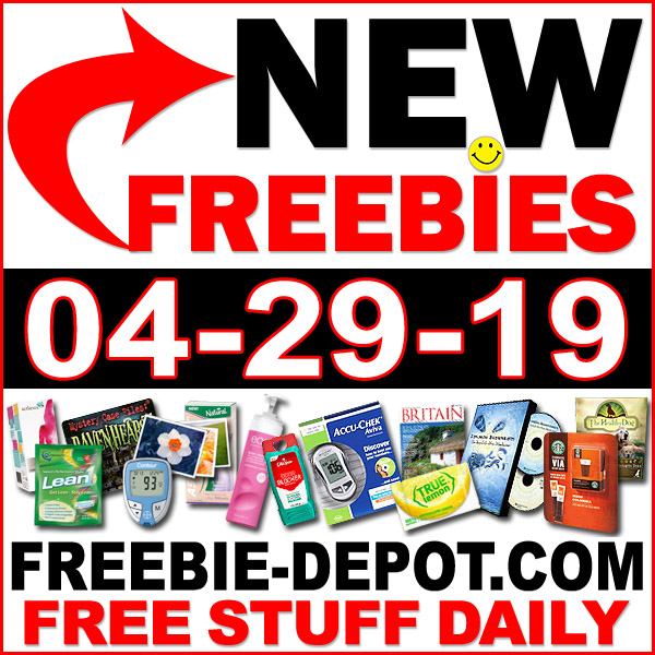 Top Freebies for April 29, 2019