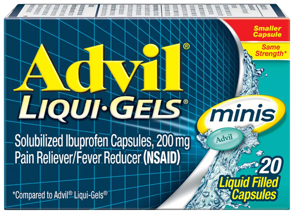 Swing by Target to Get a FREE 20 Ct of Advil Liquid Gels Minis – $4 Value Exp 6/8/19