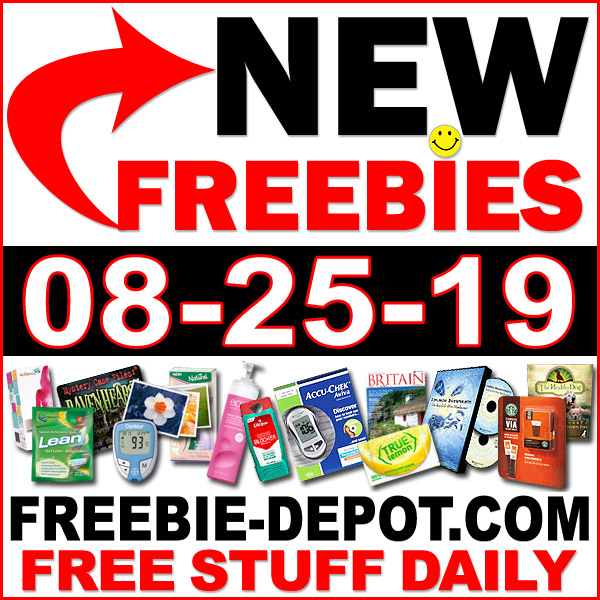 Top Freebies for August 25, 2019
