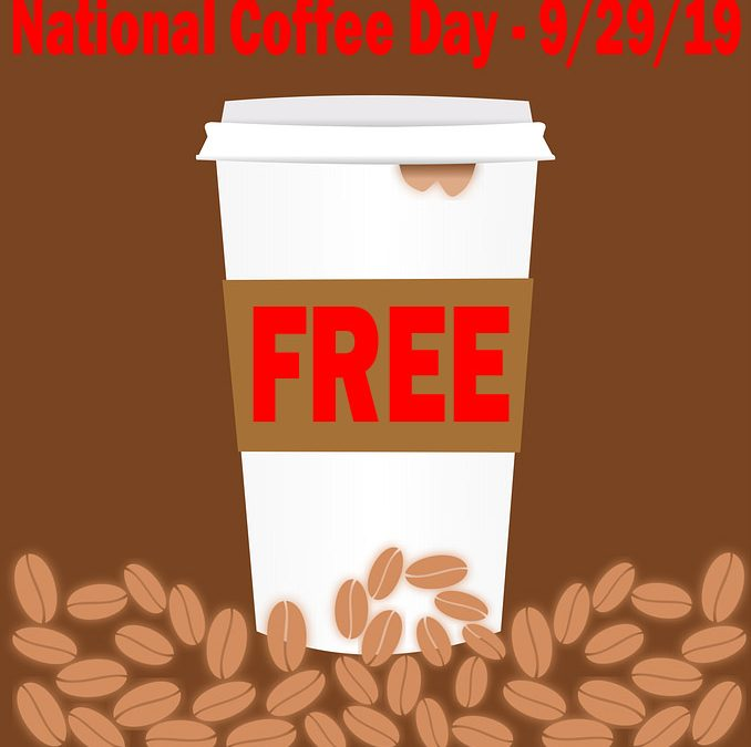 ☕ FREE Coffee & Deals – National Coffee Day – September 29 #NationalCoffeeDay