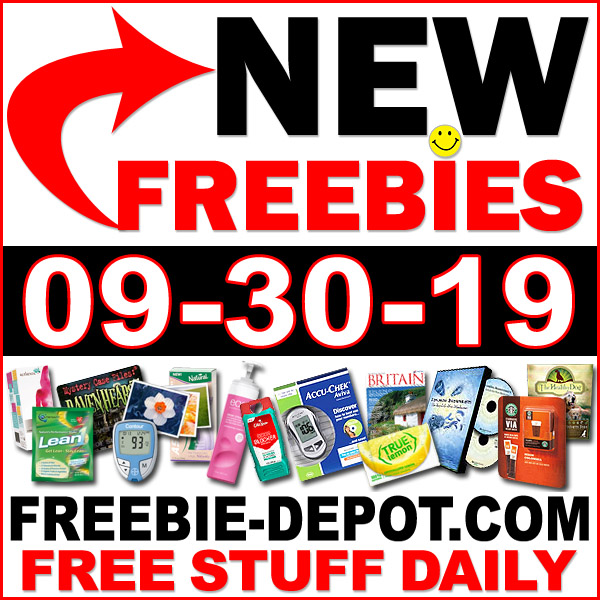 Top Freebies for September 30, 2019