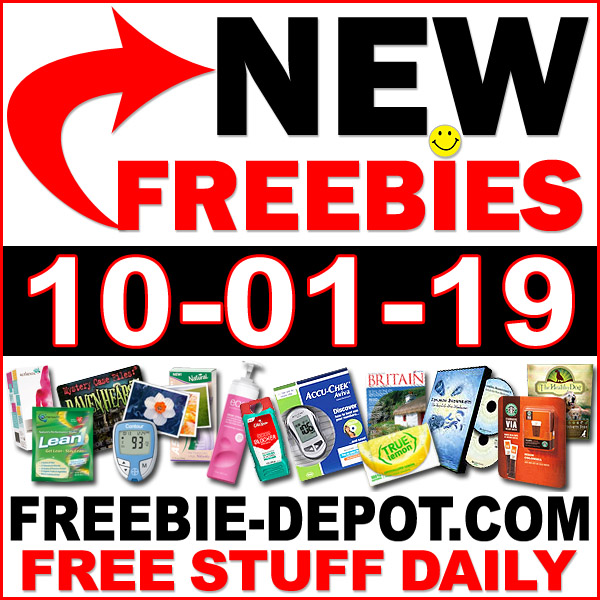 Top Freebies for October 1, 2019