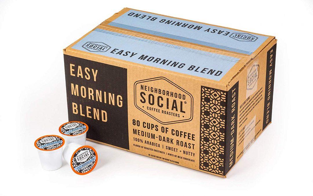 Morning Blend or Dark Roast K-Cups JUST 22¢ EACH!!!!!