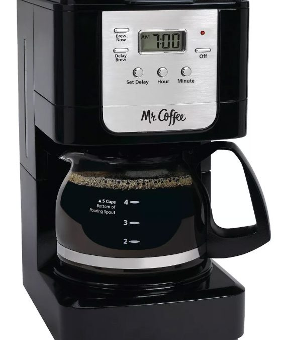 Mr. Coffee Advanced Brew Coffee Maker ONLY $8.08!