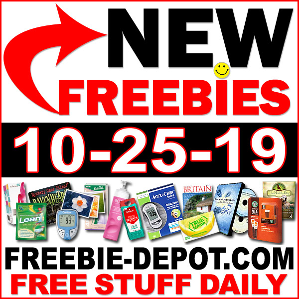 Top Freebies for October 25, 2019