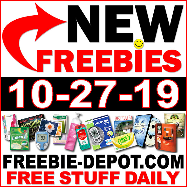 Top Freebies for October 27, 2019