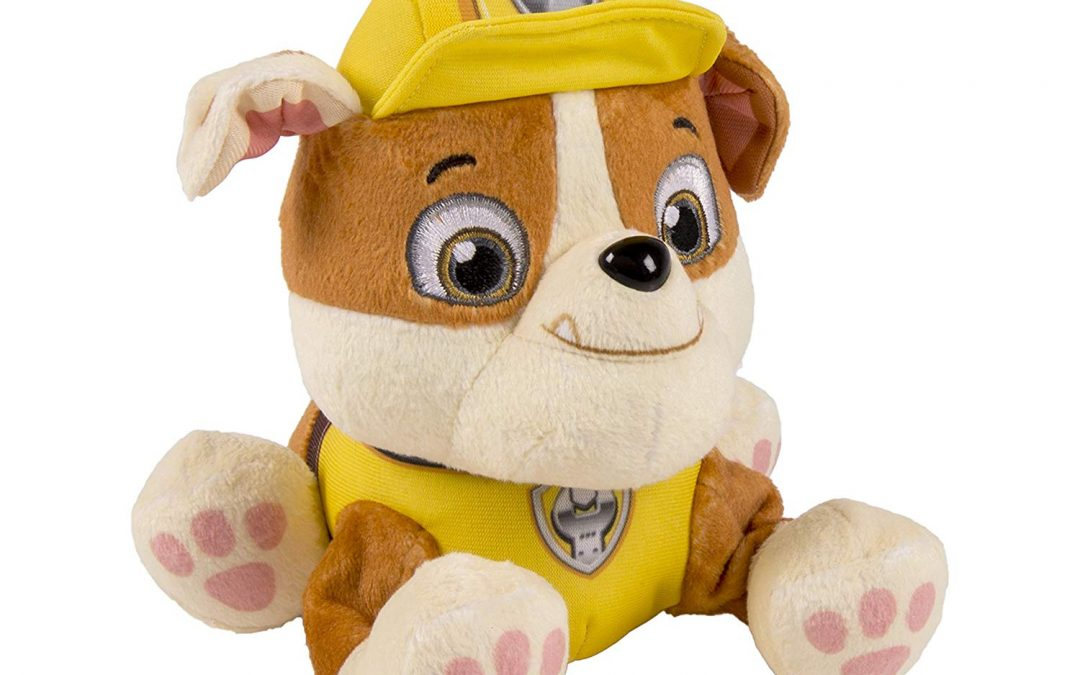 TODAY ONLY > Paw Patrol Plush Pup Pals from $3.49! That's 71% OFF!