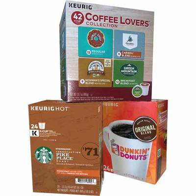 HOT~HOT~HOT > 4 X FREE COFFEE K-CUPS + 4 X FREE BATTERIES! Exp 12/28/19
