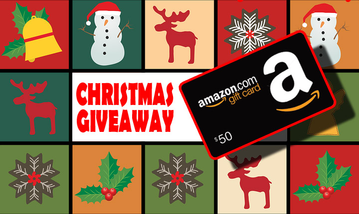 FREE Christmas Giveaway – $50 Gift Card – Ends 12/25/19