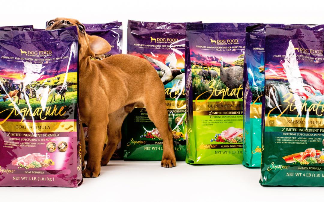 Snag 2 FREE Samples of Zignature Dog Food