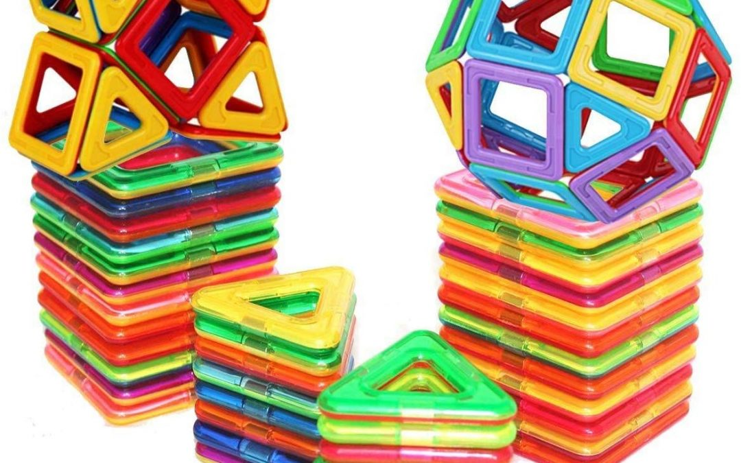 Magnetic Building Blocks Set Was $49.99 NOW ONLY $15.00