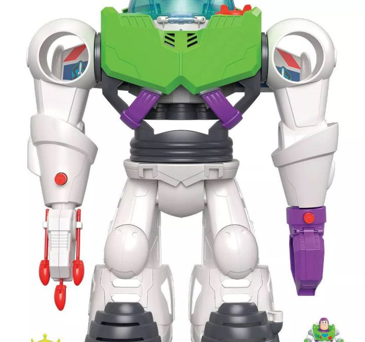 TODAY ONLY! Toy Story 4 Buzz Lightyear Robot ONLY $24.99 Shipped FREE BEFORE Christmas